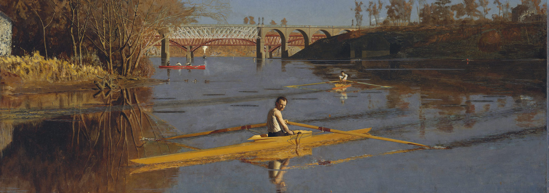 The Champion Single Sculls painting